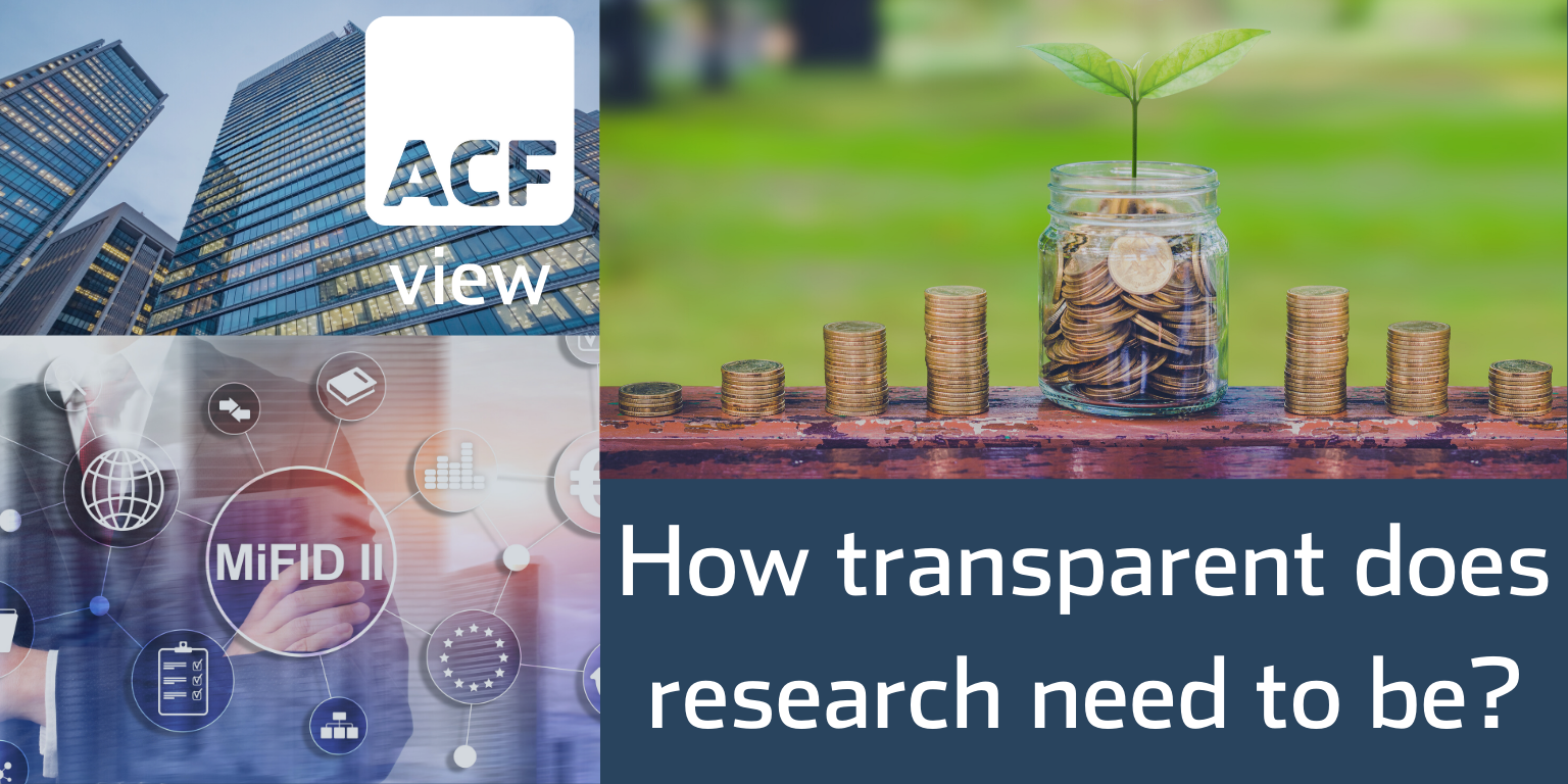 How transparent research need to be?