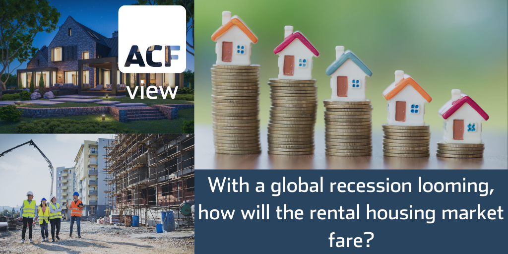 With a global recession looming, how will the rental housing market fare?