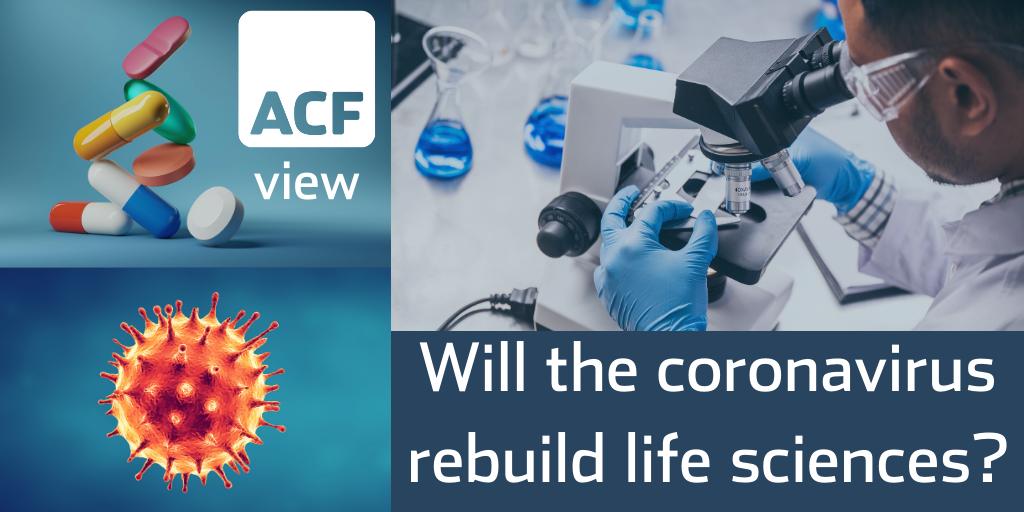 Will the coronavirus rebuild life sciences?