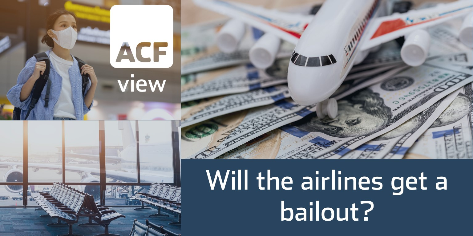 Will the airlines get a bailout?