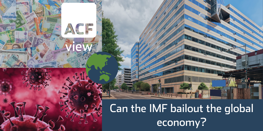 Can the IMF bailout the global economy?