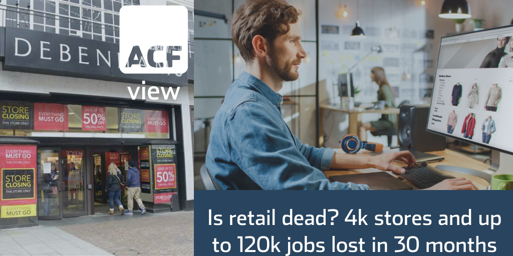 Is retail dead? 4,000 stores and up to 120,000 jobs lost in less than 30 months