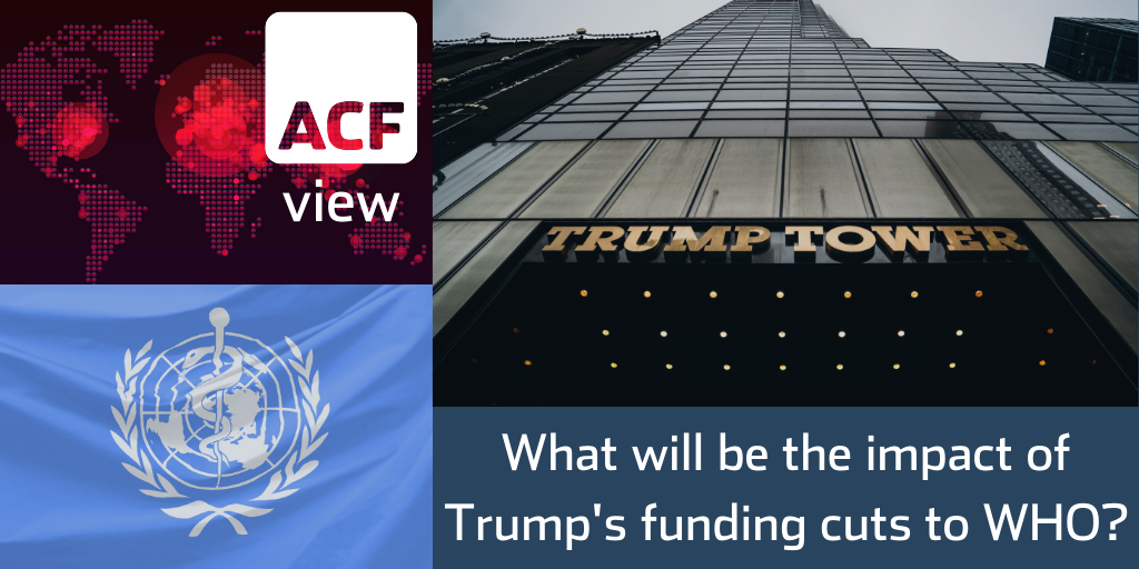 What will be the impact of Trump's funding cuts to WHO?