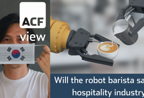 South Korean café's robot barista could be an example of an old investor adage