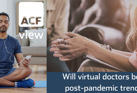 Will virtual doctors be a post-pandemic trend?