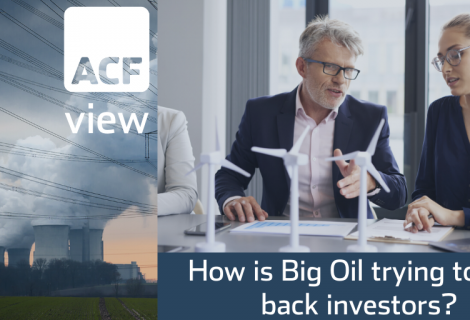 Part II – How Big Oil is Trying to Win Back Investors