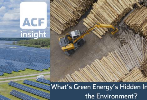 Green Energy's Hidden Impact on the Environment