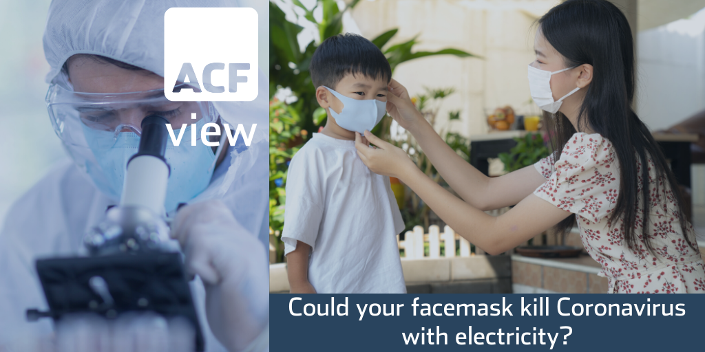 Could your facemask kill Coronavirus with electricity?