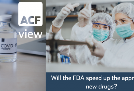 Will the FDA speed up the approval of new drugs?