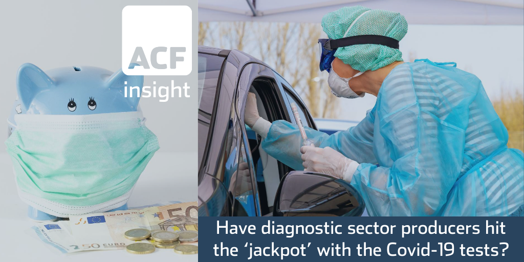 Have diagnostic sector producers hit the 'jackpot' with the Covid-19 tests