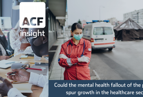 Could the mental health fallout of the pandemic spur growth in the healthcare sector?