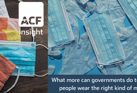 What more can governments do to ensure people wear the right kind of mask?