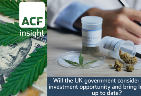 Will the UK government consider CBD an investment opportunity and bring legislation up to date?