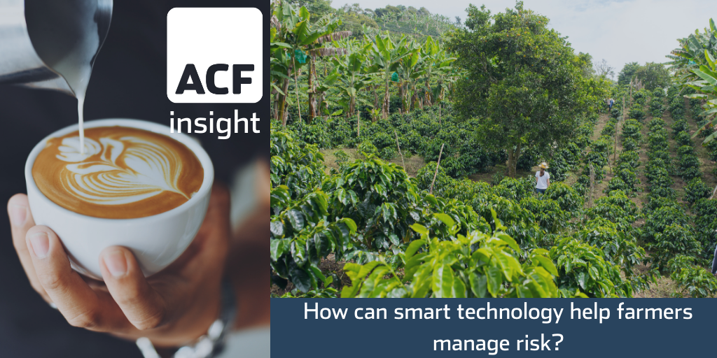 The incorporation of smart technology into agriculture can help farmers manage risk