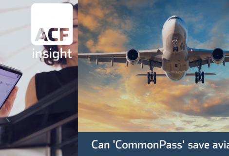 Can 'CommonPass' save aviation?