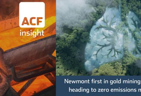 Newmont's ESG Gold good for mining