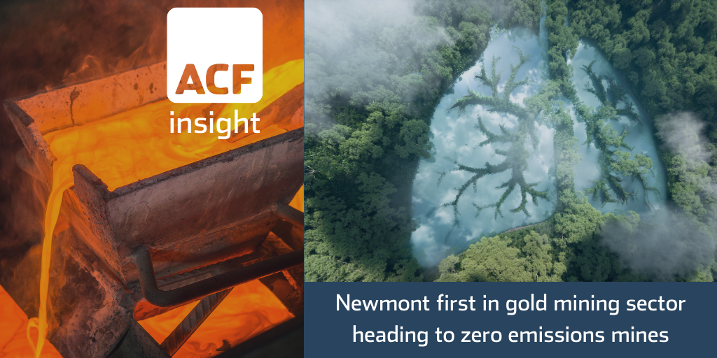 Newmont's ESG Gold good for mining