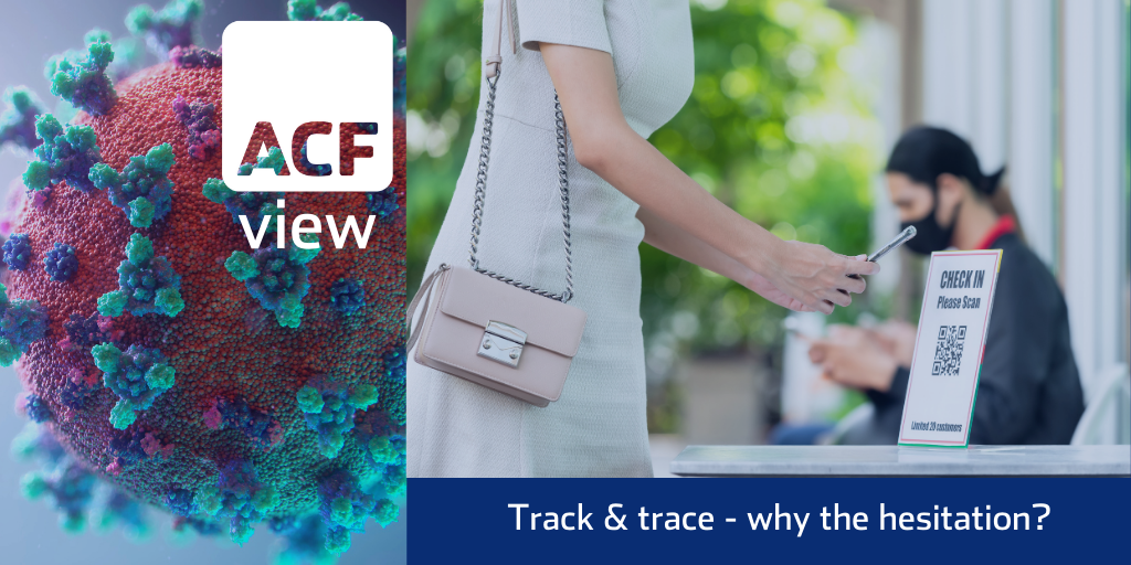 Track & trace – why the hesitation?