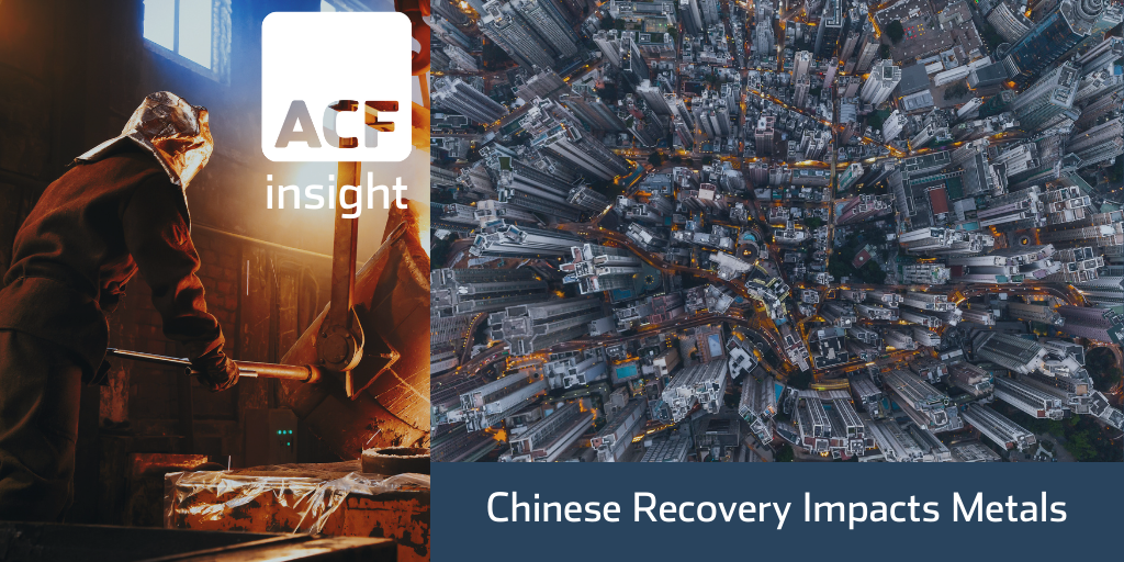 Chinese Recovery Impacts Metals