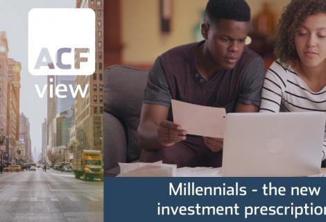 Millennials – the new investment prescription