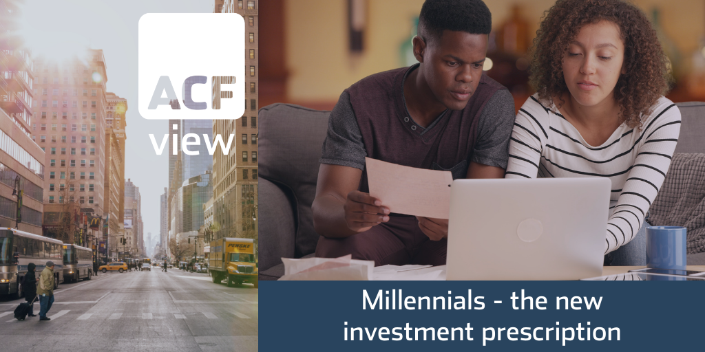 Millennials – the new investment prescription