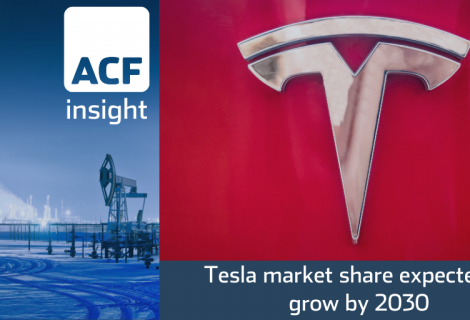 Tesla market share expected to grow by 2030