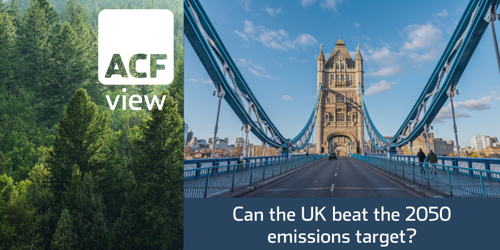 Can the UK beat the 2050 emissions target?