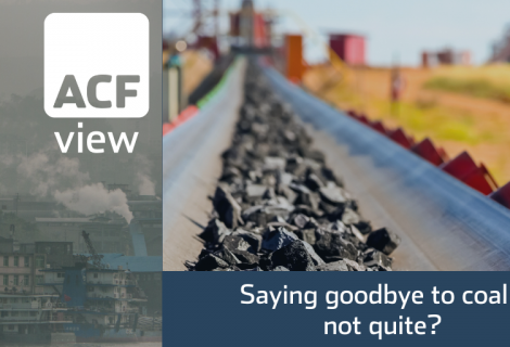 Saying goodbye to coal – not quite?