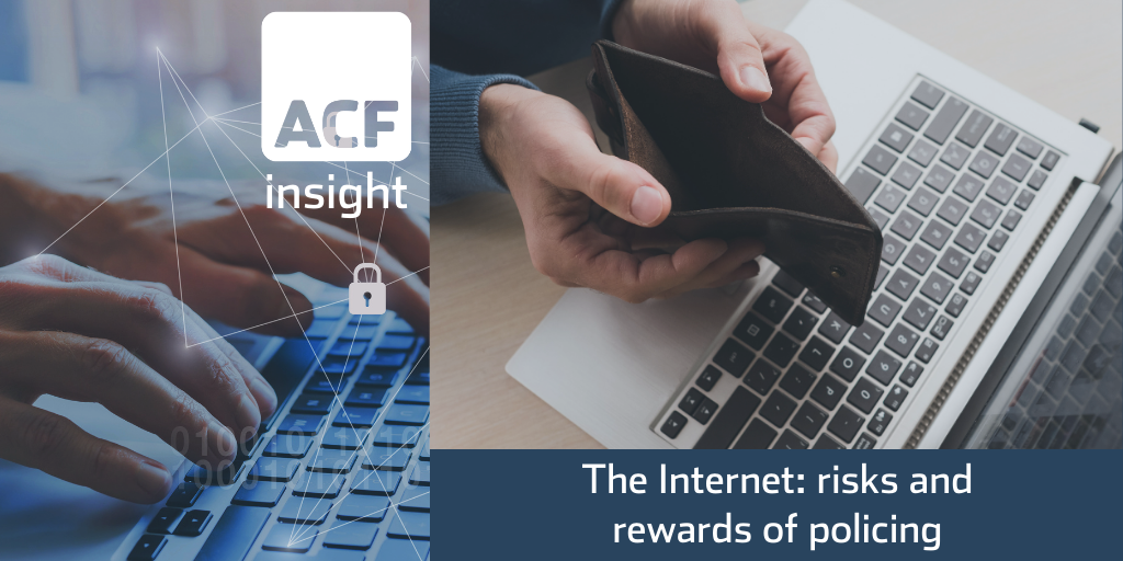 The Internet: risks and rewards of policing