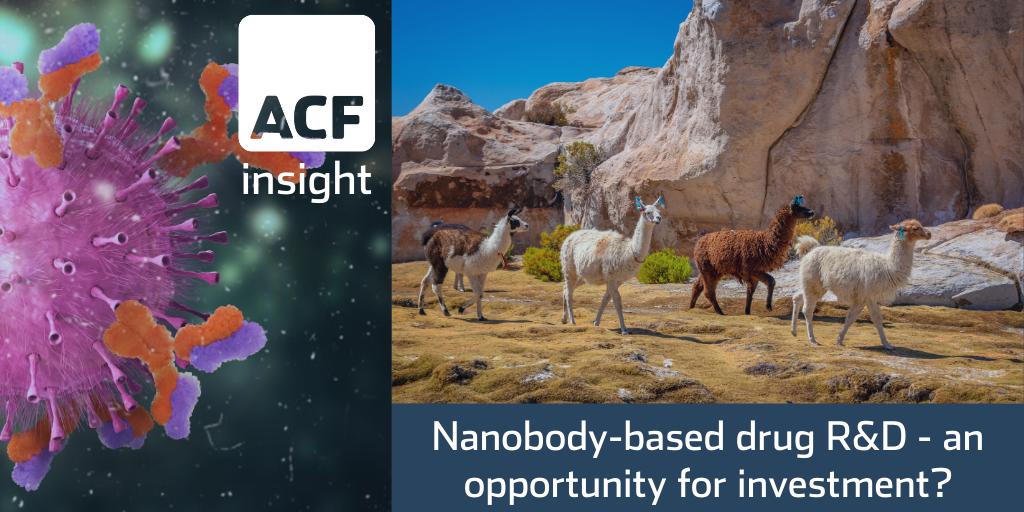 Camelids' nanobody-based drug promises