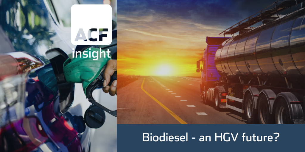 Biodiesel – fuelling the future