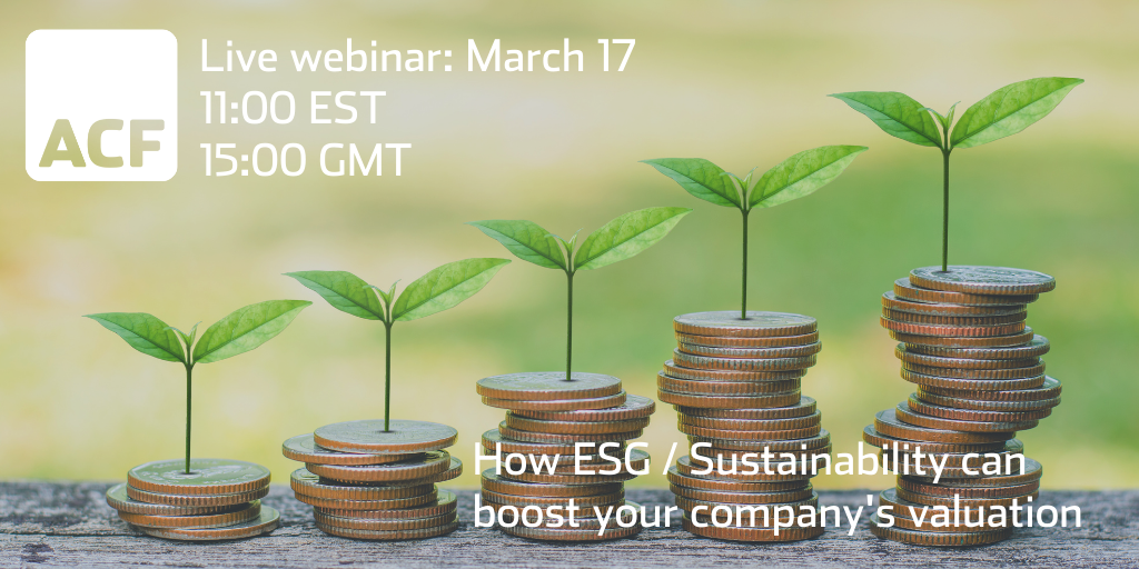 how ESG_sustinability can boost your company s valuation