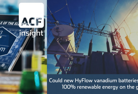 Hybrid flow battery (VFB) – can skyrocket V demand