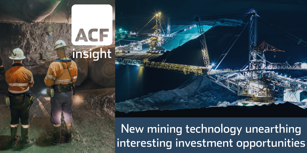 Mining tech investment opportunities