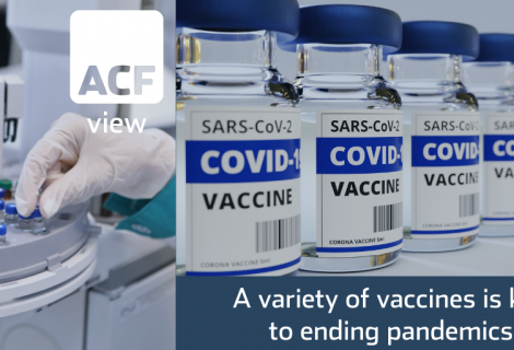 Vaccine variety is the key to ending pandemics