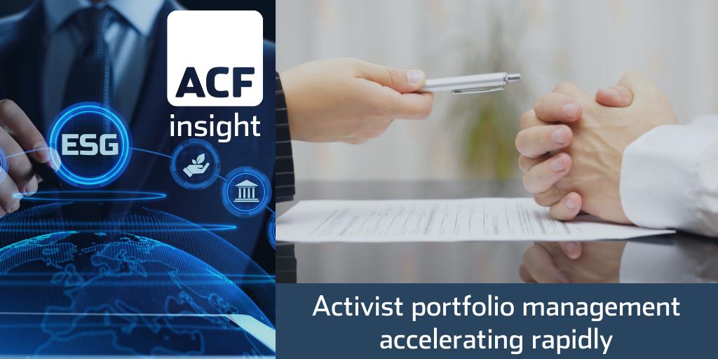 Activist ESG funds – smaller firms on the radar
