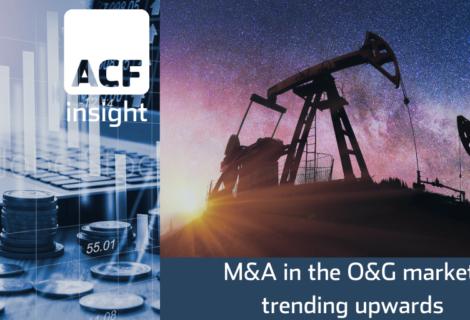 Oil & gas M&A deals 2Q21A ramp up