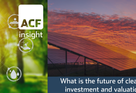 A new investment theme for cleantech is taking hold